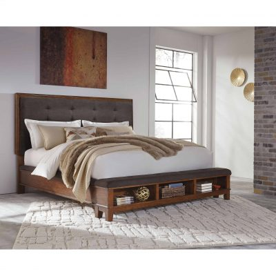 Ralene Upholstered Panel Storage Bed