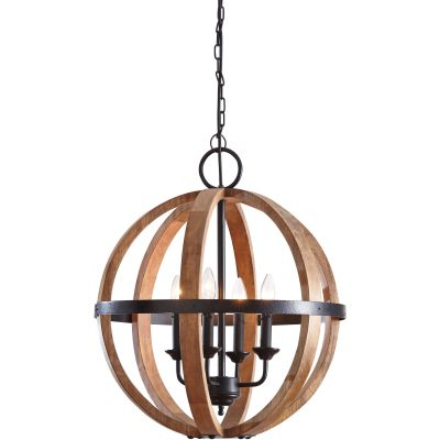 Emilano Wood Pendant Light (1/CN)